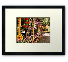 Souvenir Shop – run by Huetar Indigenous (Indios) Framed Print