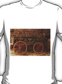 Traditional Painted Horse Cart in Etara, Bulgaria T-Shirt