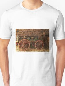 Traditional Painted Horse Cart in Etara, Bulgaria T-Shirt
