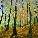 Forrest in fall by lizzyforrester