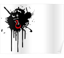 Venom Paint-Drip Poster