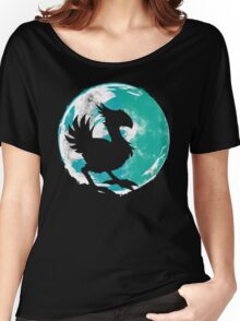 Wark at the Moon Women's Relaxed Fit T-Shirt