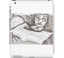Cartographer dreaming iPad Case/Skin