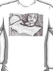 Cartographer dreaming T-Shirt