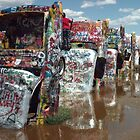Cadillac Ranch Amarillo by Paul Butler