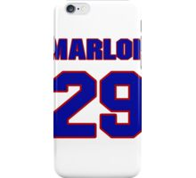 National football player Marlon McCree jersey 29 iPhone Case/Skin