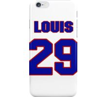 National football player Louis Oliver jersey 29 iPhone Case/Skin