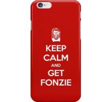 Keep Calm - Get Fonzie iPhone Case/Skin