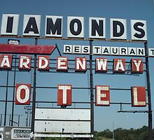 DIAMONDS MOTEL by Paul Butler