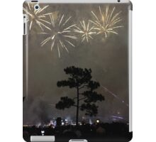 Foggy Fireworks iPad Case/Skin