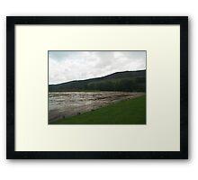 Wharfe Framed Print