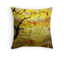 Fruit Tree - Pommier aux fruits rouges Throw Pillow