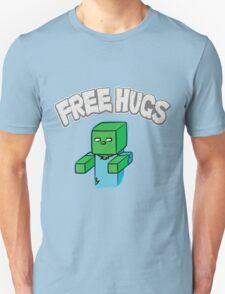 "Minecraft Zombie   ""Free Hugs"" T-Shirt"