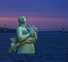 Mermaid of Hudson River by Anthony Jalandoni