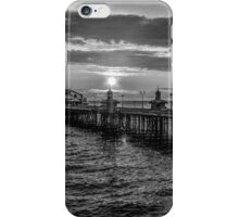 Sunset Black and White iPhone Case/Skin