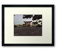 Good Morning Epcot Framed Print
