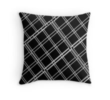 Beautiful Cushions/ Pattern/ Black Blocks Throw Pillow