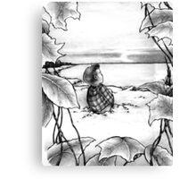 The Frozen Lake Canvas Print
