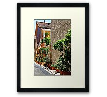 Are we in Provence Yet? Yes We Are! Framed Print