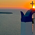 Sun and Cross by myphototype