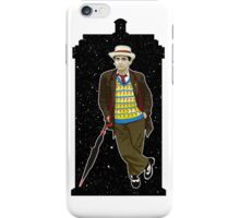 Seventh Doctor and The TARDIS iPhone Case/Skin