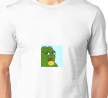 Smug pepe frog Unisex T-Shirt