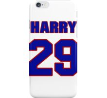 National football player Harry Colon jersey 29 iPhone Case/Skin