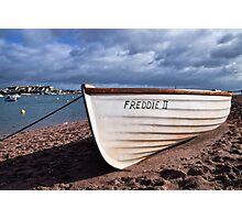 Freddie II At Shaldon, Devon  Photographic Print