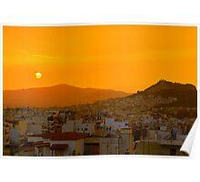 Athenian Sunbath Poster