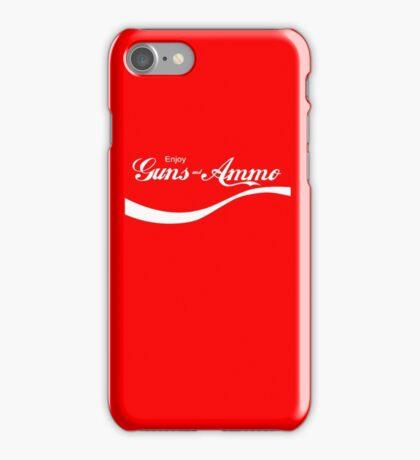 Enjoy Guns & Ammo? iPhone Case/Skin