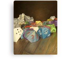 Holy Relics of the Gamer Canvas Print