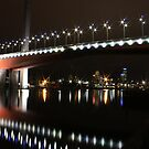 bolte bridge at night by Steve Scully