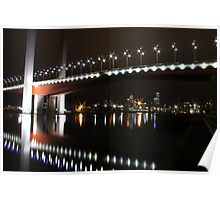 bolte bridge at night Poster