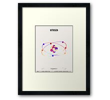 Nitrogen - Element Art Framed Print