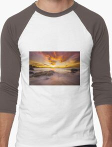 Kirra Glory... Men's Baseball ¾ T-Shirt