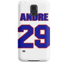 National football player Andre Hal jersey 29 Samsung Galaxy Case/Skin