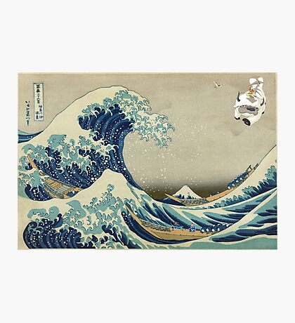 The Great Wave Off Katara Photographic Print