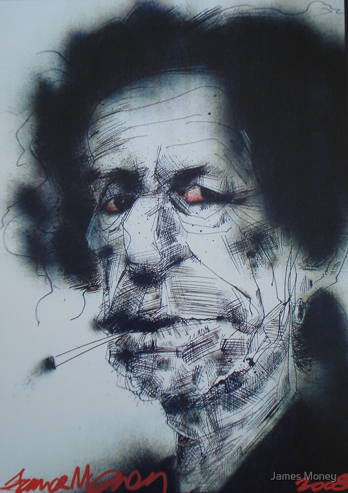 Keef Richards by James Money