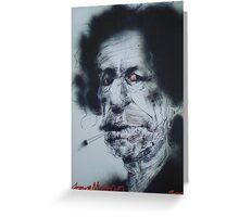 Keef Richards Greeting Card