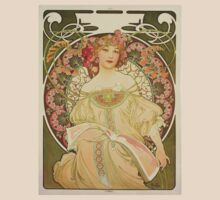 'Obraz' by Alphonse Mucha (Reproduction) T-Shirt