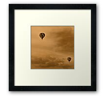 Balloon Festival Framed Print