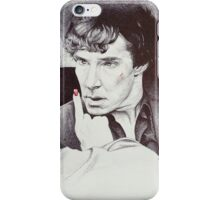 Hush, now.  Don't get up... iPhone Case/Skin