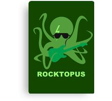 Rocktopus [GREEN] Canvas Print