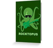 Rocktopus [GREEN] Greeting Card