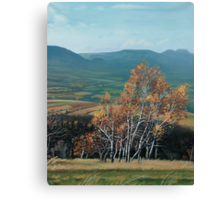 View of Table Mountains and Bystrzyckie Mountains Canvas Print