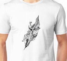 Feather Zentangle Unisex T-Shirt