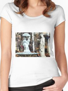 ~statuary~ Women's Fitted Scoop T-Shirt