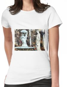 ~statuary~ Womens Fitted T-Shirt