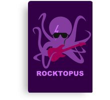 Rocktopus [PURPLE] Canvas Print