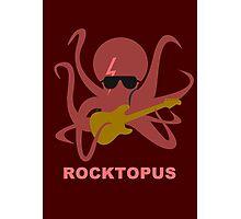 Rocktopus [RED] Photographic Print